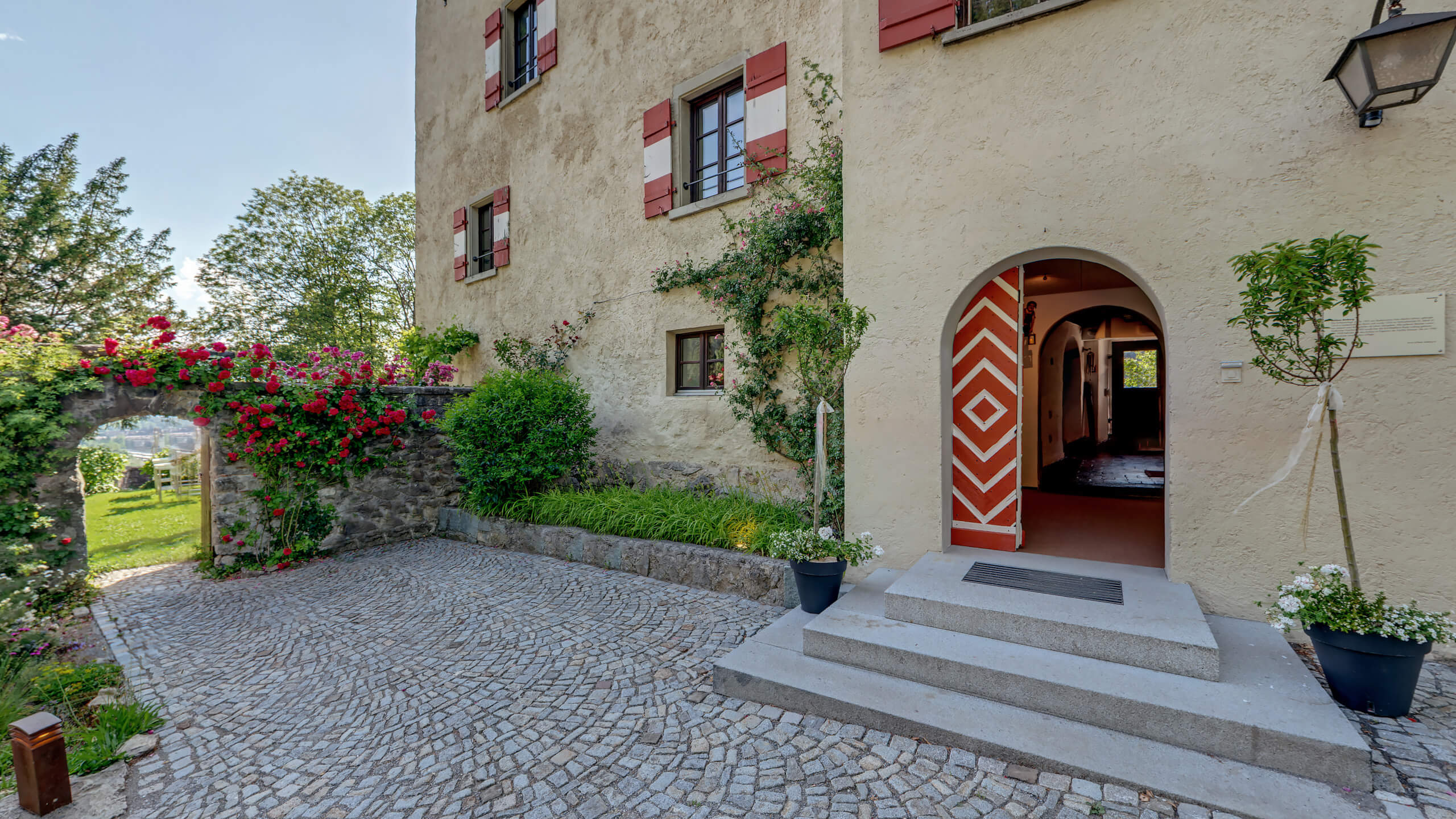 Historie des Schloss Amberg
